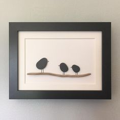 Little pebble art frame made as a thank you gift for Siggi's 1st grade teacher (who has two little kids.) Last day of school tomorrow!!