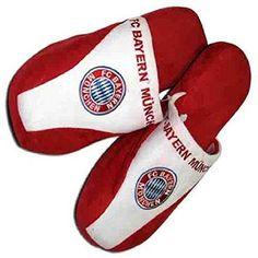 FC Bayern München Hausschuhe / Pantoffeln / Filzpantoffeln mit aufgesticktem Vereinswappen FCB - http://on-line-kaufen.de/fc-bayern-muenchen/fc-bayern-muenchen-hausschuhe-pantoffeln-mit-fcb