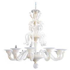 Beautiful Murano Chandelier | From a unique collection of antique and modern chandeliers and pendants  at http://www.1stdibs.com/furniture/lighting/chandeliers-pendant-lights/
