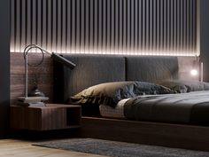 Master Bedroom on Behance Modern Luxury Bedroom, Master Bedroom Interior, Luxury Bedroom Design, Bedding Master Bedroom, Modern Master Bedroom, Bedroom Furniture Design, Home Room Design, Master Bedroom Design, Luxurious Bedrooms