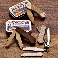 JJ's Child's Faux-Knife Kits PERFECT FOR A YOUNG CHILD