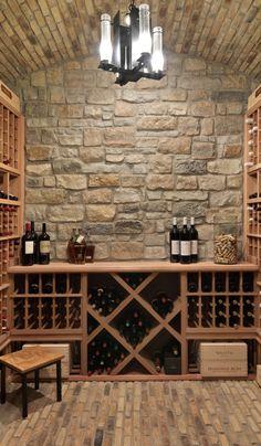 Wine Cellar Basement, Wine Cellar Racks, Wine Rack, Mountain Home Interiors, Winery Tasting Room, Home Wine Cellars, Wine Cellar Design, Wine Storage, Bunker