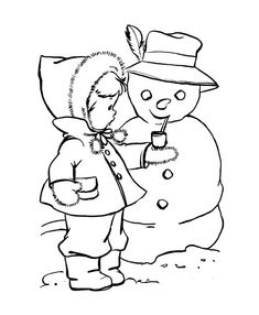 Winter Coloring, Coloring Pages Winter Cute Kid Putting A Pipe On Snowman: Coloring Pages Winter Cute Kid Putting A Pipe On SnowmanFull Size Image Fox Coloring Page, Snowman Coloring Pages, Coloring Pages Winter, Coloring Sheets For Kids, Online Coloring Pages, Alphabet Coloring Pages, Coloring Pages For Girls, Mandala Coloring Pages, Christmas Coloring Pages