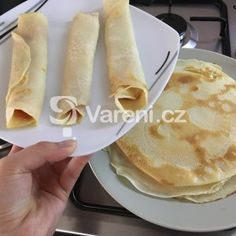 Palačinky bez vajec recept - Vareni.cz Naan, Food And Drink, Ethnic Recipes, Drinks, Kids, Food And Drinks, Flowers, Drinking, Young Children