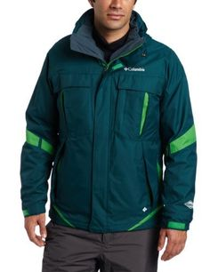 Columbia Men's Bugaboo Interchange Jacket, Blue Forest, Large by Columbia. $126.90. Three jackets in one – a warm microfleece liner; a waterproof-breathable and critically seam sealed shell; and a combination of both – our classic Bugaboo comes in a wide assortment of colors and will keep you warm, dry and protected in cold winter weather.  SMALL MED, LG, XL  2500 EACH SIZE IN ALL DIFFERENT COLORS