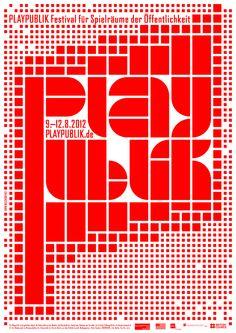 Playpublik Poster © Michael Rudolph | milchhof : atelier