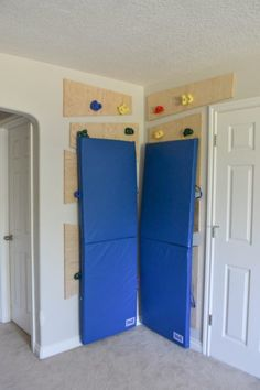 child proof climbing wall