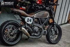 "Ducati Scrambler ""modern scrambler"" by Mugello Bike : P'Pong mahachai ( erban warrior) Design & custom : Mugello ( thailand ) #mugelloshop #scramblerducati #scramblerthailand#ducatiscramblerclubthailand #scramblerandtracker #ducatigram"