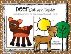 Deer Cut and PasteThis is a deer cut and paste project.    $