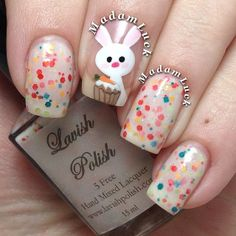 madamluck easter #nail #nails #nailart