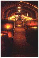 Great cave wine tastings - they thieve the wine right from the barrel.