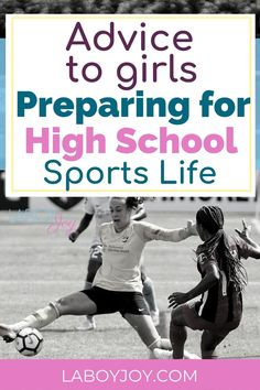 Just for the girls. This advice to girls preparing for the move from middle school to high school sports life. Everything they need to think of and prepare for a smooth transition. Athletic Scholarships, Scholarships For College, Sports Mom, School Sports, Good Communication Skills, Raising Teenagers, Do Homework, High School Girls, New Friends
