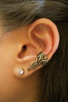 Bronze Arabesque Ear Cuff by martymagic on Etsy, $22.00
