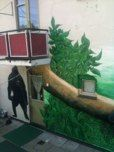 Part of mural. Hand painted by Aagot.no, 2013 #aagotno #art #mural #voss