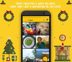 Merry Christmas & Happy Holidays from everyone here at galleri5!