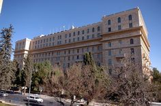 King David Hotel - Jerusalem. The most famous hotel in the city, with a rich history.  President Obama will be staying here.