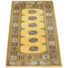 Beautiful handmade oriental rug. This light gold color rug has a complimenting border pattern.This area rug will be a wonderful addition to your home decor',or a beautiful color theme starting point for decorating the rooms in your new home, or re-decorating the home you have enjoyed for years. This handmade oriental rug is made to last a good long while,bring warmth and comfort  to any small area in your home.