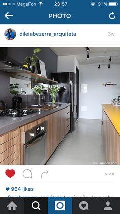 Interior Exterior, Kitchen Interior, Kitchen Decor, Kitchen Design, Interior Design, Kitchen Ideas, Architecture Design, Kitchen Cabinets, Flooring