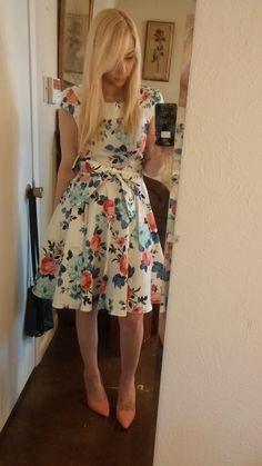 Thanks Floral You've Done Dress | Mod Retro Vintage Dresses | ModCloth.com