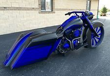 Harley-Davidson : Touring 08 harley 26 road king custom bagger crazy stereo air ride stretched everyth