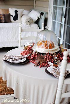 Beautiful tablescape.
