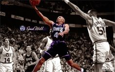 *Spud Webb* Sacramento Kings Nation