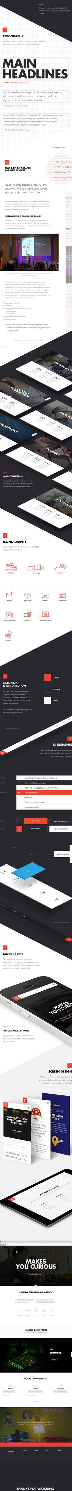 Degordian - Agency Website by Degordian, via Behance