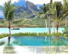 The Four Seasons at Bora Bora. I was at Bora Bora in Bora Bora Resorts, Vacation Resorts, Hotels And Resorts, Dream Vacations, Vacation Spots, Dream Trips, Tropical Vacations, Vacation Places, Luxury Hotels