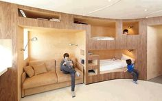 Such a cool room idea