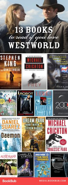 Check out these recommended books to read next for fans of Westworld.