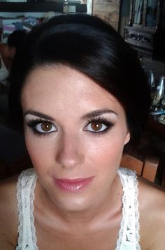 black/ grey smoky eye makeup by Janita Helova www.janitahelova.com