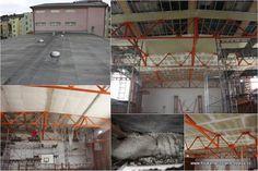 2014/09 rekonstrukce podhledu tělocvičny SPŠ stavební v Opavě
