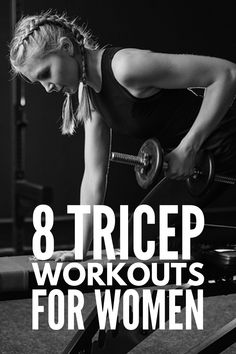Tighten and Tone: 8 Transforming Tricep Workouts for Women 8 Tricep Workouts for Women Tricep Workout Women, Dumbbell Workout, Pilates Workout, Pilates Yoga, Pilates Reformer, Killer Arm Workouts, Arm Exercises, Toning Workouts, Beginner Workouts