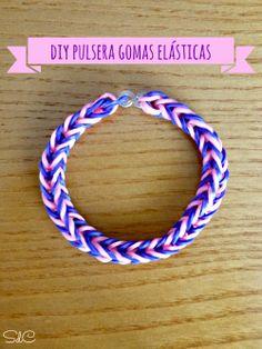 DIY Pulsera con gomas elásticas