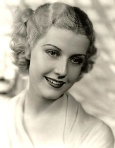 Anita Louise, 1930s ~ she looks too innocent for Hollywood