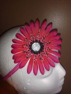Handmade flower headband by babybelladivas on Etsy, $10.00