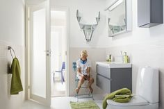 Tämä suomalainen peurahylly kääntää katseet myös kylpyhuoneen puolella.