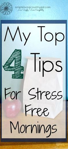 My simple time saving tips for smoother mornings will help you & your family have a stress free start to their day. Life Organization, Organizing Life, Organizing Ideas, Saving Tips, Time Saving, Organized Mom, Time Management Tips, Stressed Out, Life Advice