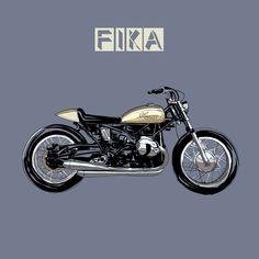Takamine motorcycle by @jp_artride  #digitalart Fika, Digital Art, Sketches, Motorcycle, Drawings, Vehicles, Ideas, Rolling Stock, Motorcycles