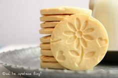 Galletas grabadas (sin azúcar) ~ Qué te apetece hoy?