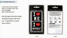 Sticky Cleaner I love me & I love myself 2-in-1 Microfiber Screen Cleaner Sticker for #iphone #microfiber #tech #gift #christmas #x-mas