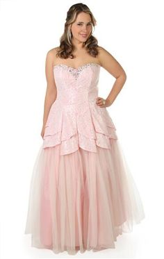 plus size all over lace prom dress with a tulip tulle ball gown skirt.....Hopefully my halloween costume for this year!