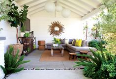 Outdoor living www.mollywoodgardendesign.com