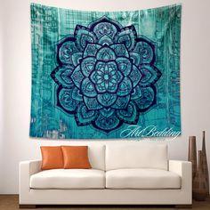 Bohemian Tapestry Boho mandala wall tapestryHippie por ArtBedding