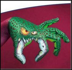 monster   ;) [hand art]