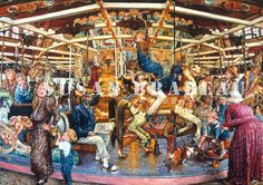 """""""The Carousel"""" by Susan Brabeau"""