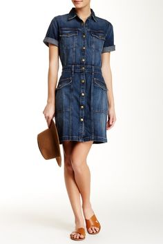 The New Trucker Shirtdress by Current/Elliott on @nordstrom_rack