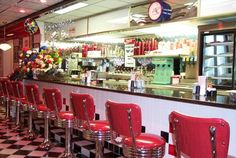 50s diners are the best:)