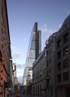 2014 Tallest #52: The Leadenhall Building, #London, 224 meters #Skyscrapers