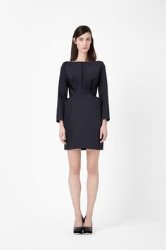 Folded Waist Dress by Cos €125 #fashion #dress #tailored #structure